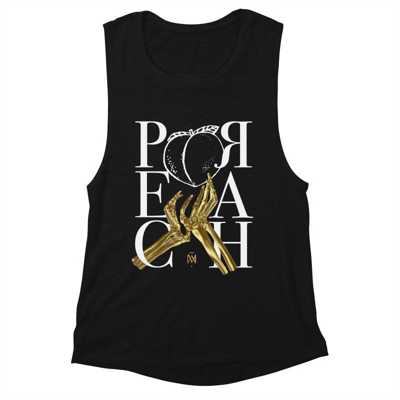 Preach Women's Muscle Tank by Saṃsāra LSD
