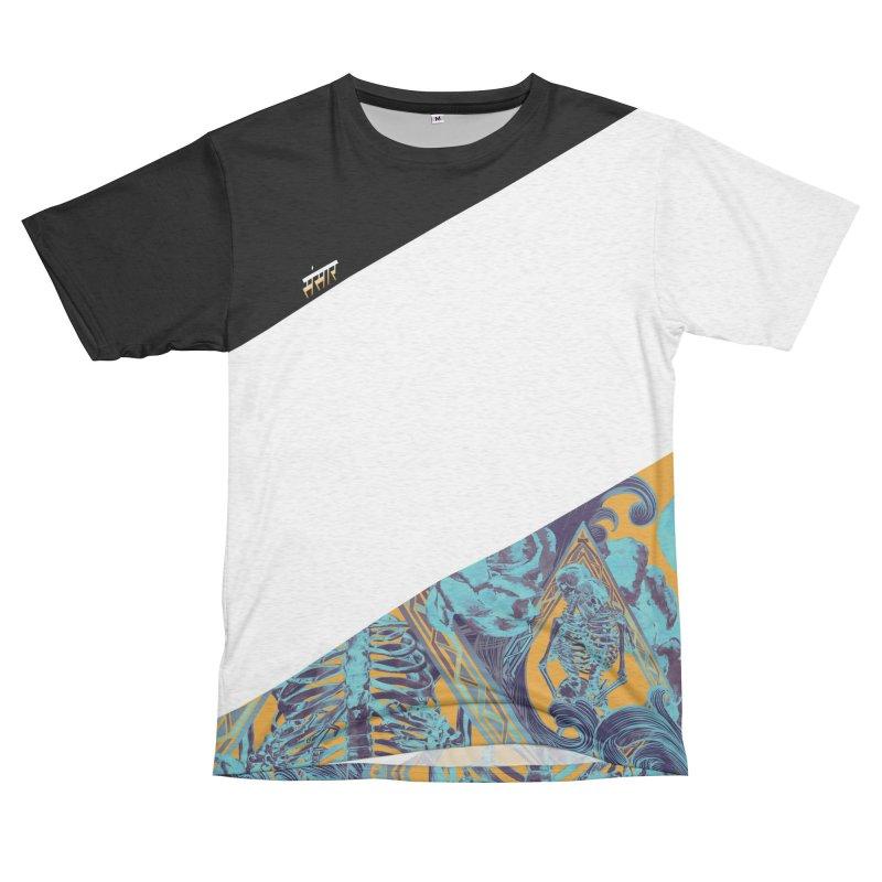 Slash Triband Men's French Terry T-Shirt Cut & Sew by Saṃsāra LSD
