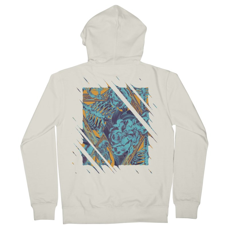 Slash Triband Men's French Terry Zip-Up Hoody by Saṃsāra LSD