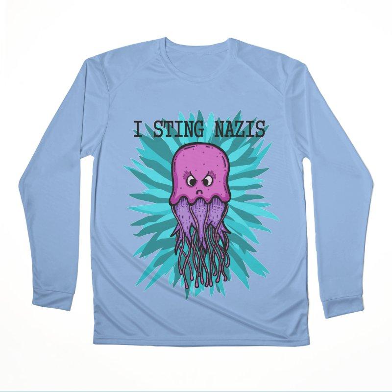 I Sting Nazis Women's Longsleeve T-Shirt by Samsartmess's Artist Shop