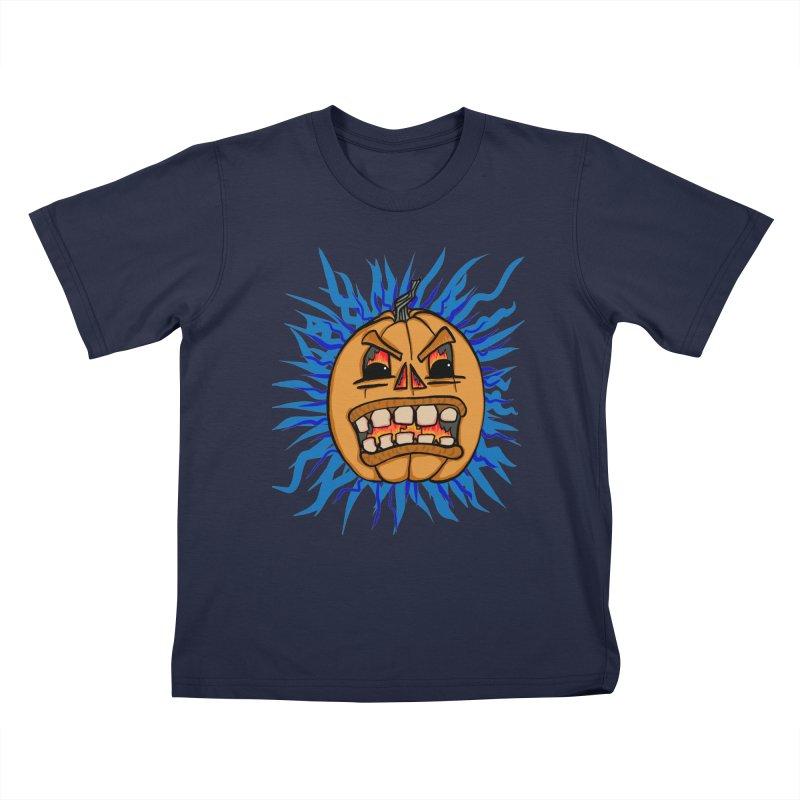 Jack Da Lantern Kids T-Shirt by Samsartmess's Artist Shop