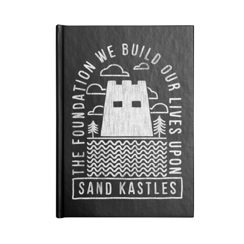 Foundations Accessories Notebook by Sand Kastles Apparel