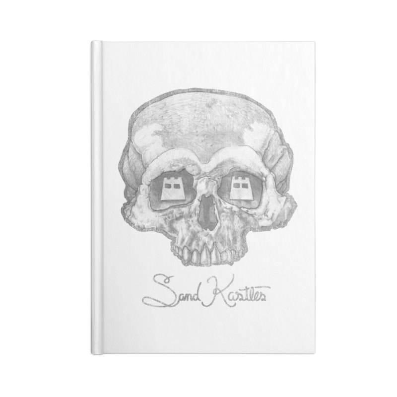 Distressed Vision  Accessories Notebook by Sand Kastles Apparel