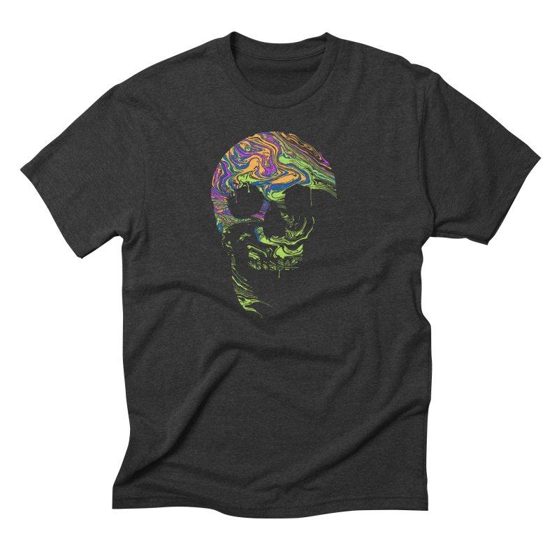 Liquid Death Men's Triblend T-shirt by Sand Kastles Apparel