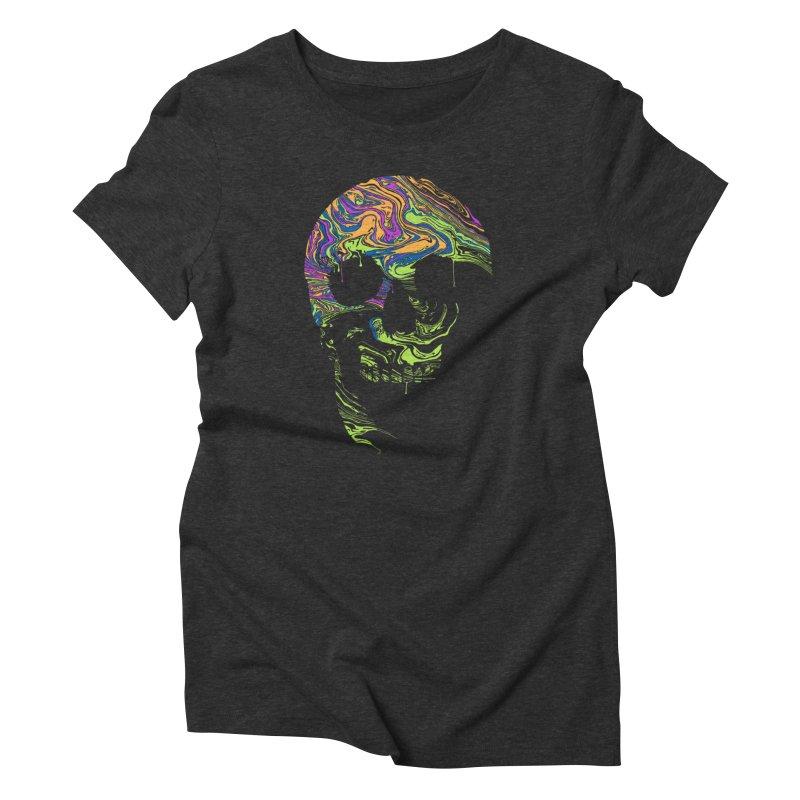 Liquid Death Women's Triblend T-shirt by Sand Kastles Apparel
