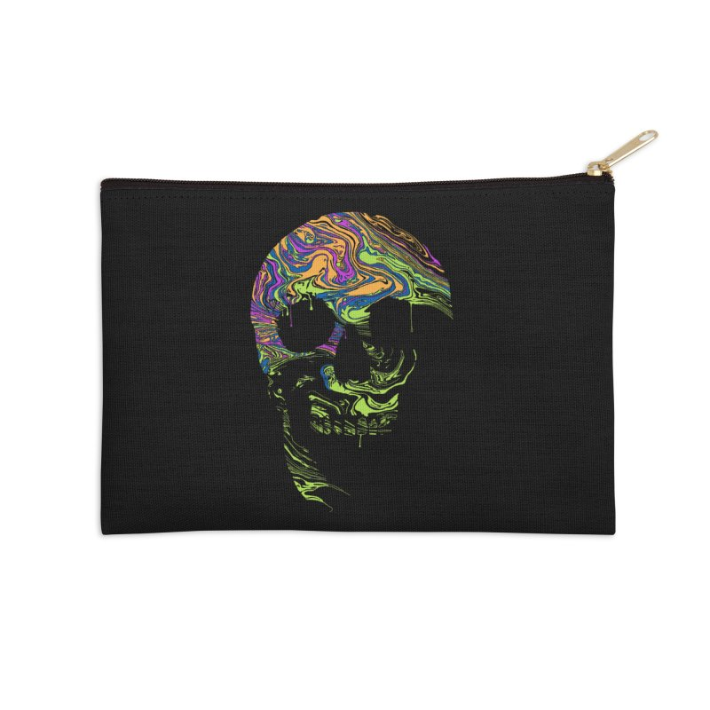 Liquid Death Accessories Zip Pouch by Sand Kastles Apparel