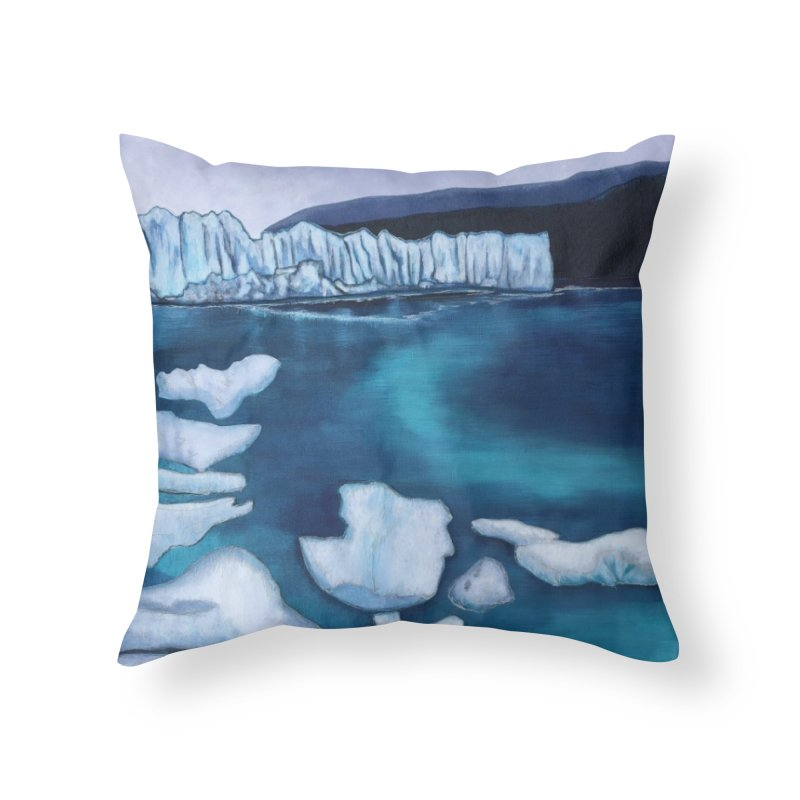 Thinner Ice Home Throw Pillow by