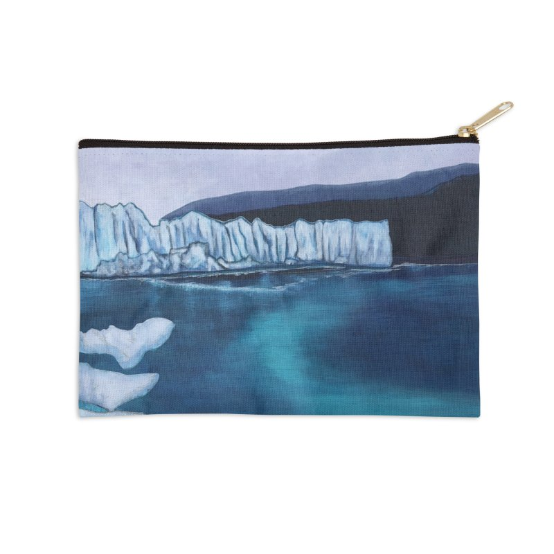 Thinner Ice Accessories Zip Pouch by