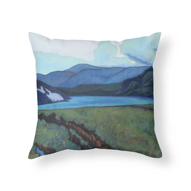 Turf Home Throw Pillow by