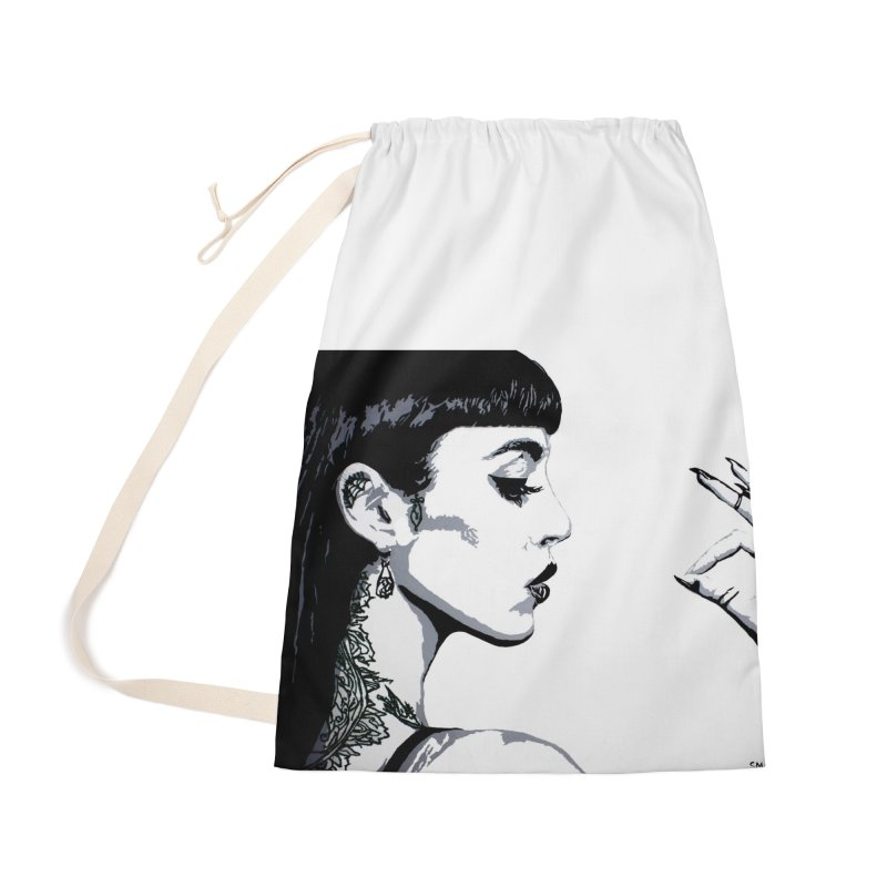 Embroidered Tattoo Collection #14 Accessories Bag by SarahMichelle's Artist Shop