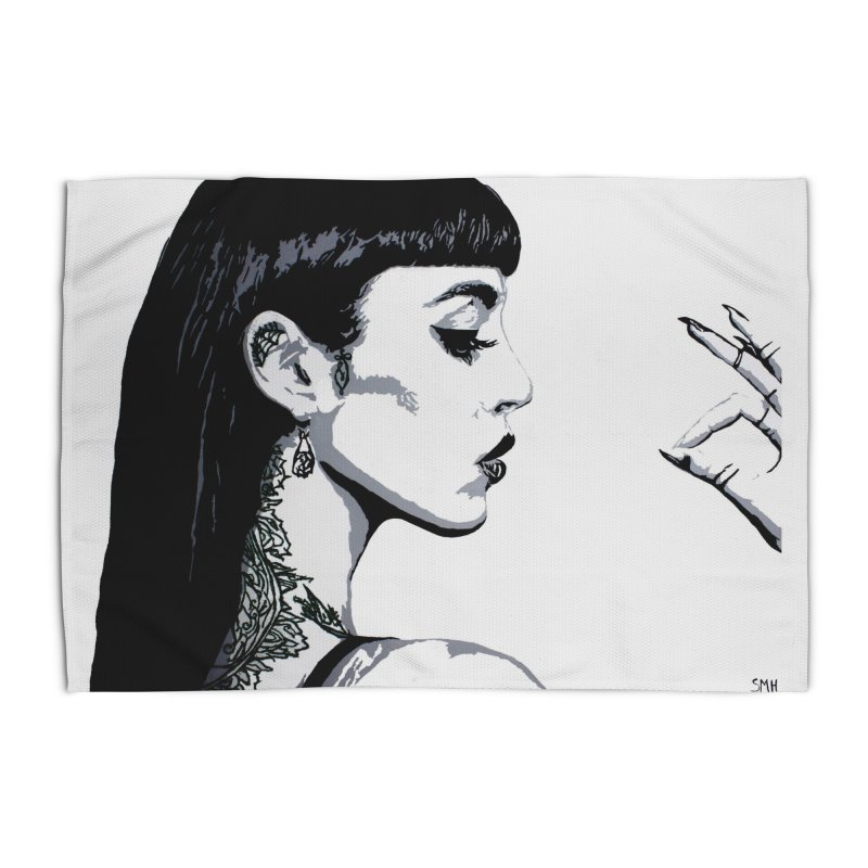 Embroidered Tattoo Collection #14 Home Rug by SarahMichelle's Artist Shop