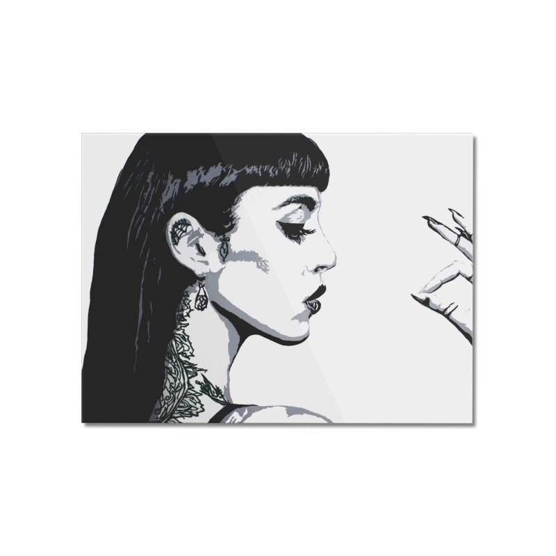 Embroidered Tattoo Collection #14 Home Mounted Acrylic Print by SarahMichelle's Artist Shop