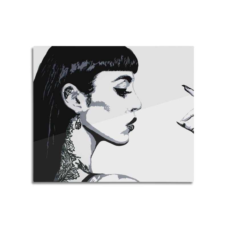 Embroidered Tattoo Collection #14 Home Mounted Aluminum Print by SarahMichelle's Artist Shop