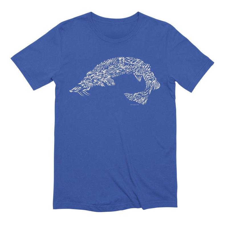Sturgeon Men's T-Shirt by Sarah K Waite Illustration