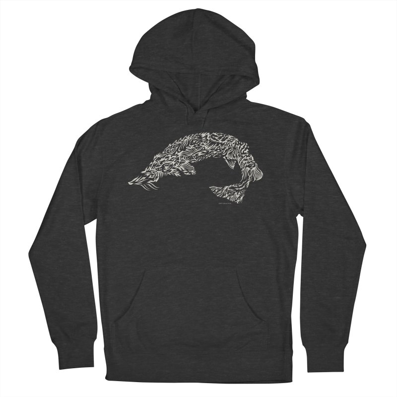 Sturgeon Women's French Terry Pullover Hoody by Sarah K Waite Illustration