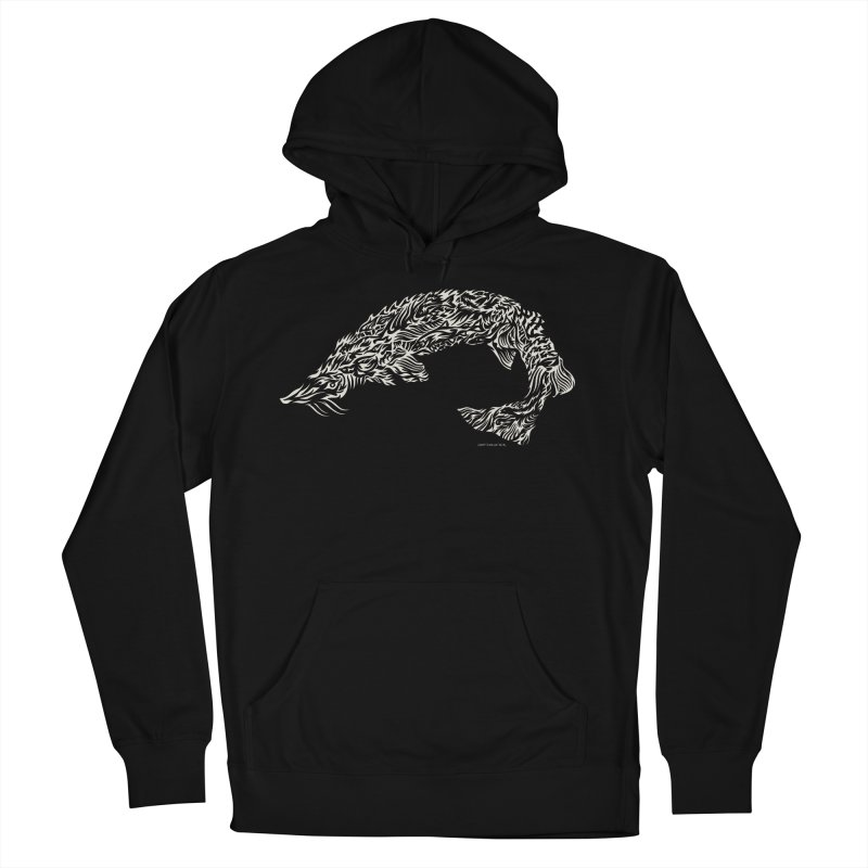 Sturgeon Men's French Terry Pullover Hoody by Sarah K Waite Illustration