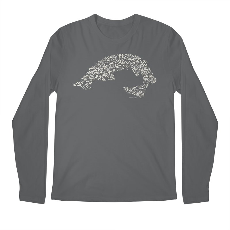 Sturgeon Men's Longsleeve T-Shirt by Sarah K Waite Illustration