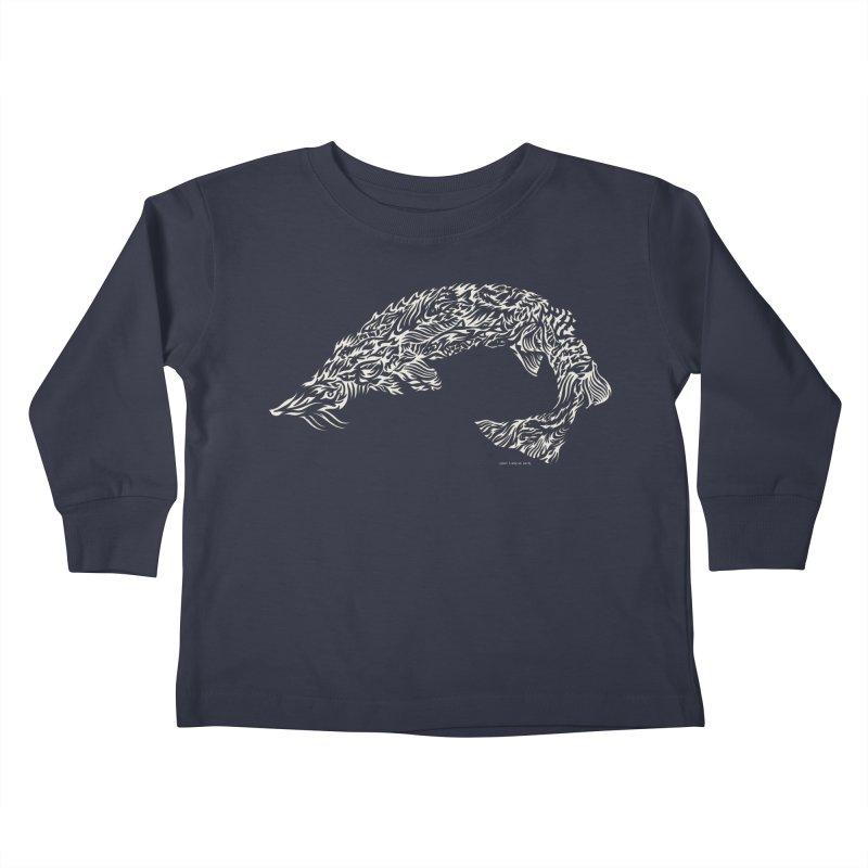 Sturgeon Kids Toddler Longsleeve T-Shirt by Sarah K Waite Illustration