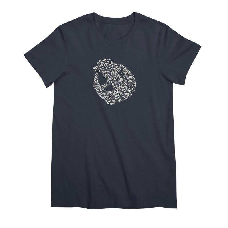 Otter Women's Premium T-Shirt by Sarah K Waite Illustration