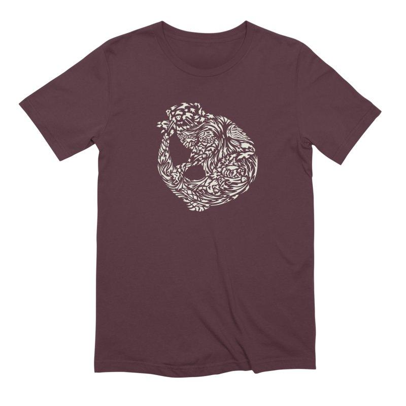 Otter Men's Extra Soft T-Shirt by Sarah K Waite Illustration