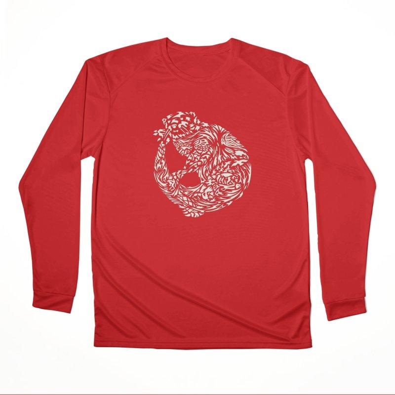 Otter Men's Performance Longsleeve T-Shirt by Sarah K Waite Illustration