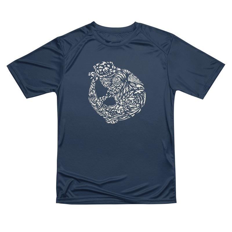 Otter Men's Performance T-Shirt by Sarah K Waite Illustration
