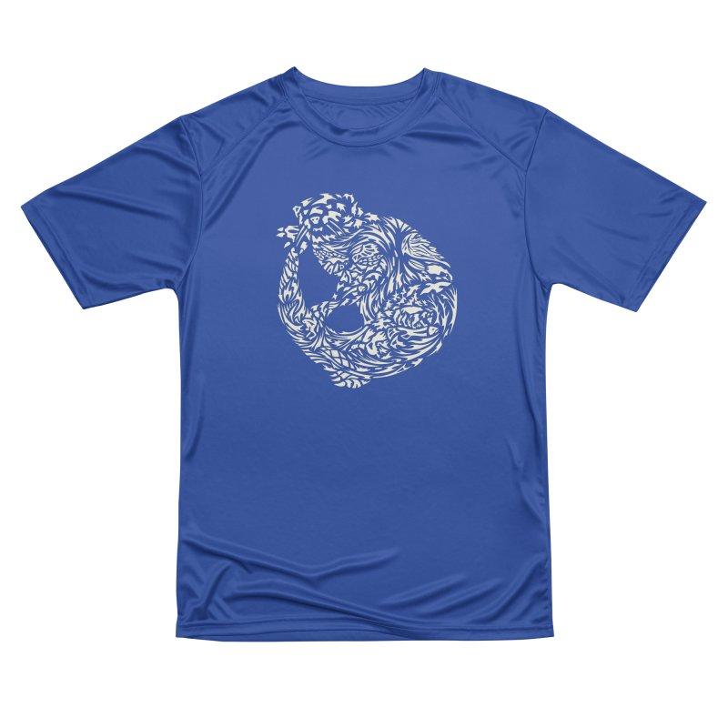 Otter Women's Performance Unisex T-Shirt by Sarah K Waite Illustration