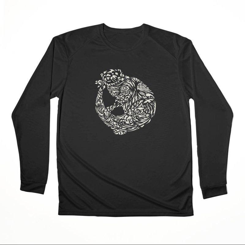 Otter Women's Longsleeve T-Shirt by Sarah K Waite Illustration