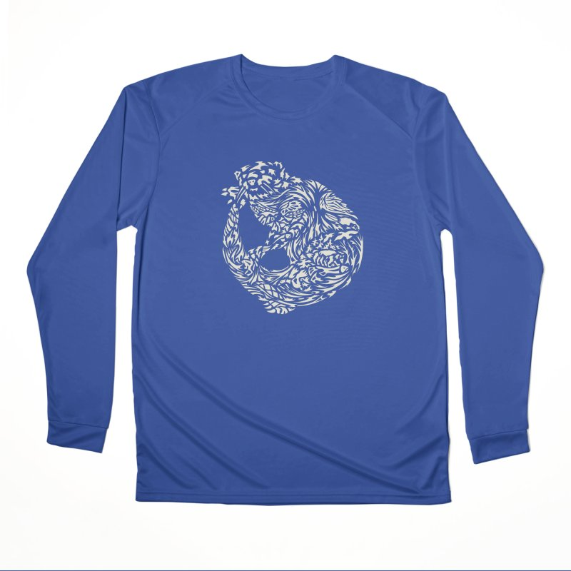 Otter Women's Performance Unisex Longsleeve T-Shirt by Sarah K Waite Illustration