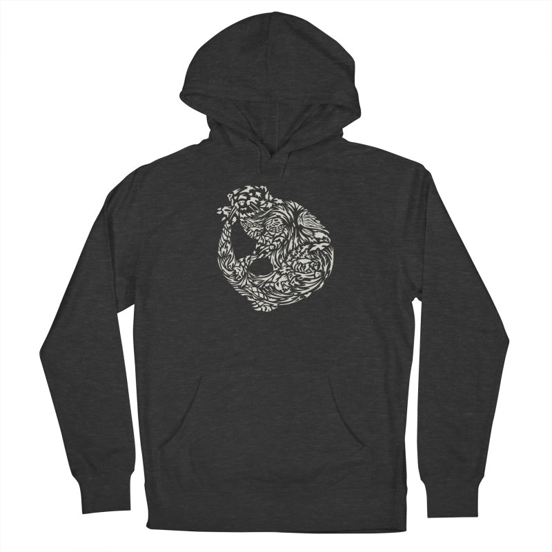 Otter Men's French Terry Pullover Hoody by Sarah K Waite Illustration