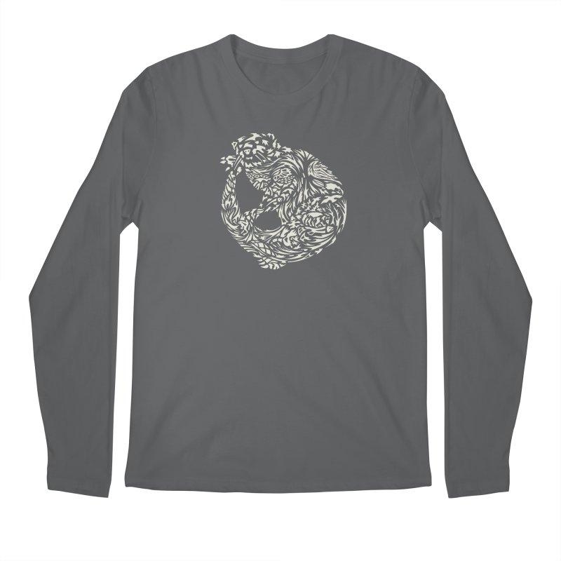 Otter Men's Longsleeve T-Shirt by Sarah K Waite Illustration