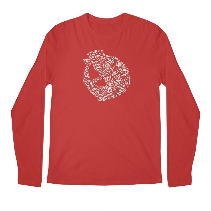 Otter Men's Regular Longsleeve T-Shirt by Sarah K Waite Illustration