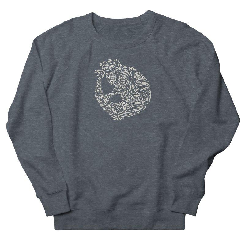Otter Men's French Terry Sweatshirt by Sarah K Waite Illustration