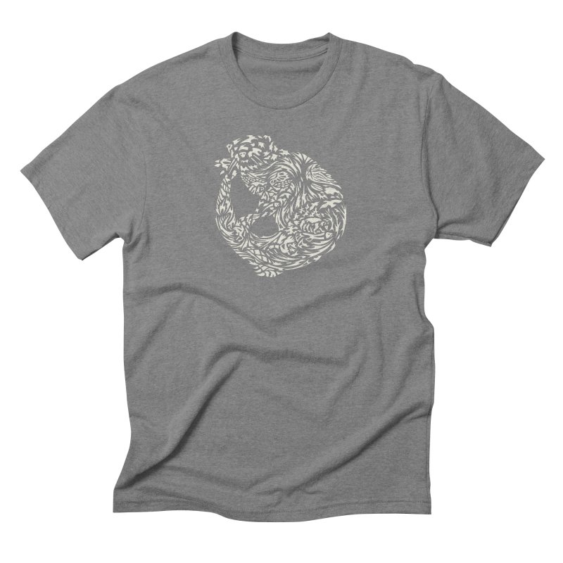 Otter Men's Triblend T-Shirt by Sarah K Waite Illustration