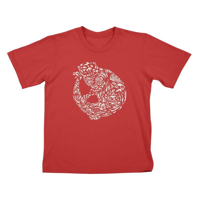 Otter Kids T-Shirt by Sarah K Waite Illustration