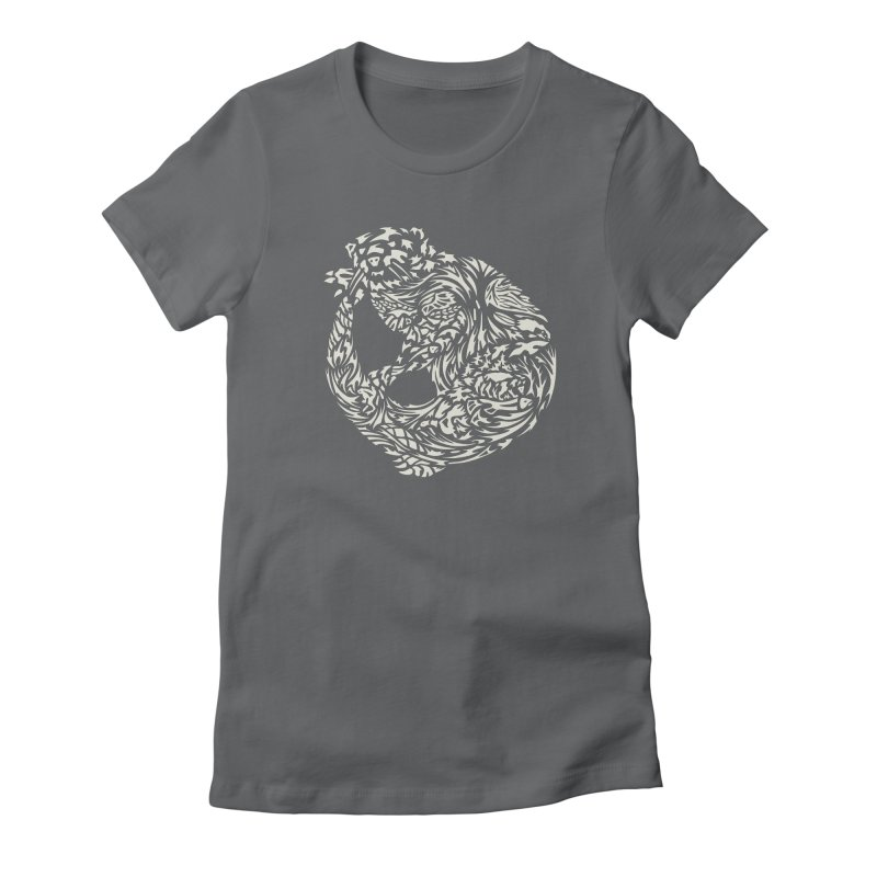 Otter Women's T-Shirt by Sarah K Waite Illustration
