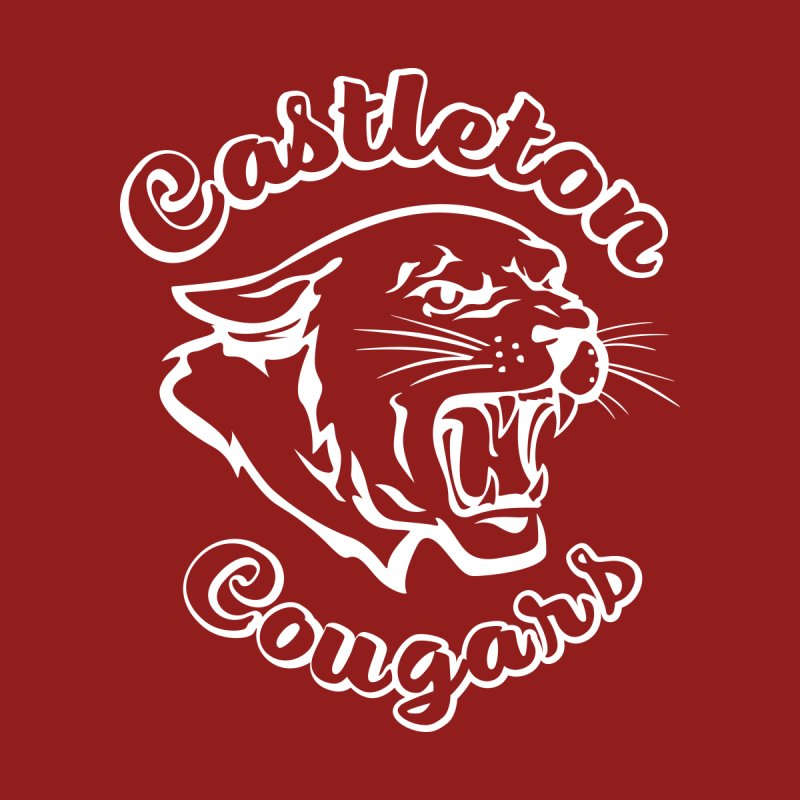 Castleton Cougars Men's T-Shirt by Sarah K Waite Illustration