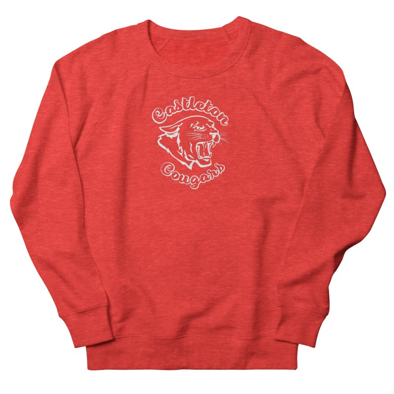 Castleton Cougars Men's Sweatshirt by Sarah K Waite Illustration