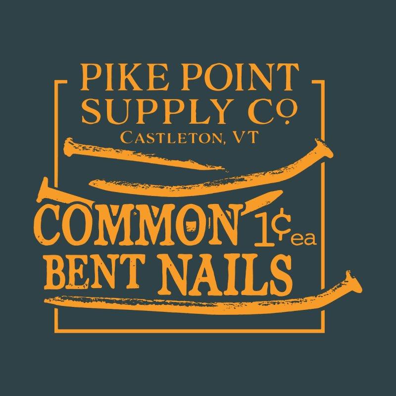 Pike Pt Bent Nails Men's T-Shirt by Sarah K Waite Illustration