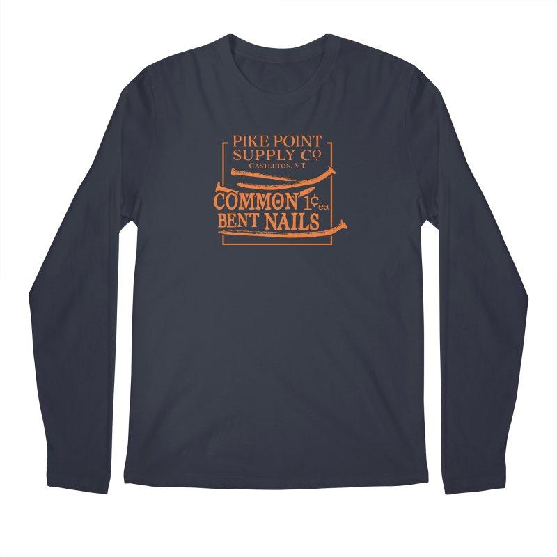 Pike Pt Bent Nails Men's Longsleeve T-Shirt by Sarah K Waite Illustration
