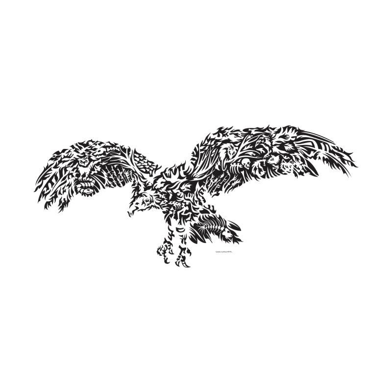Turkey Vulture BW Men's T-Shirt by Sarah K Waite Illustration