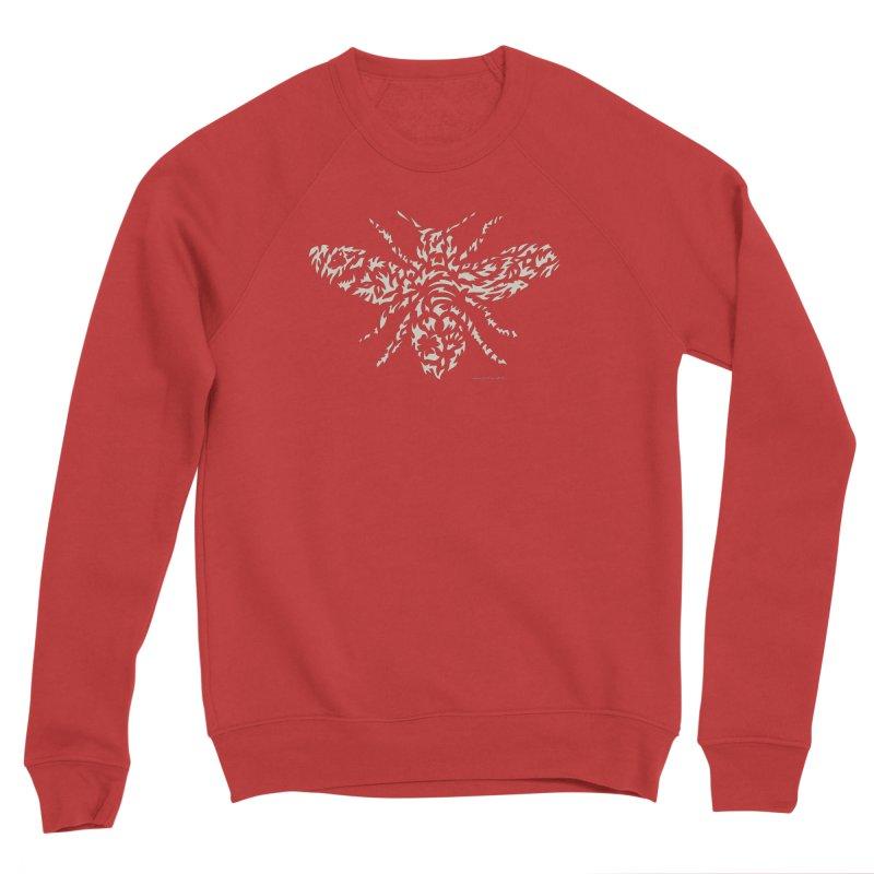 Honey Bee Men's Sweatshirt by Sarah K Waite Illustration