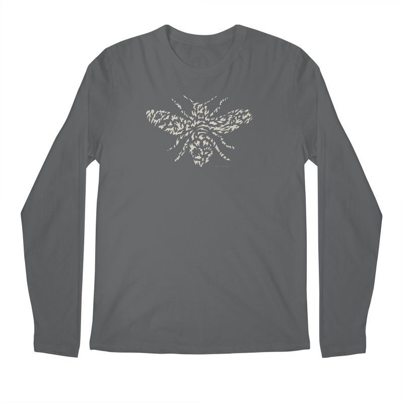 Honey Bee Men's Longsleeve T-Shirt by Sarah K Waite Illustration