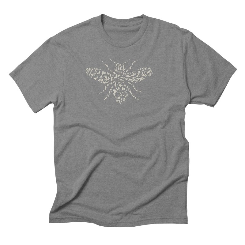 Honey Bee Men's Triblend T-Shirt by Sarah K Waite Illustration
