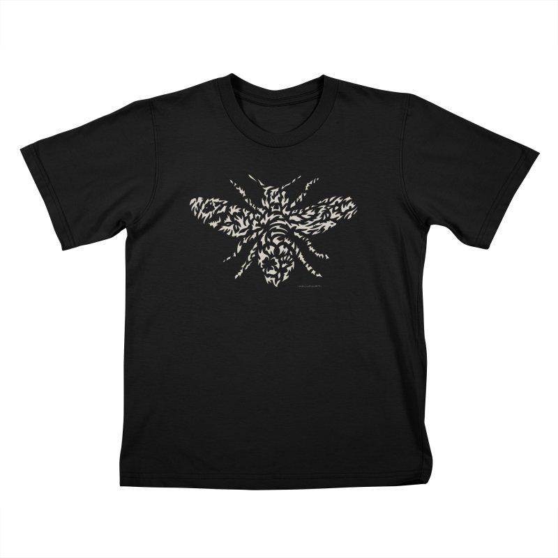 Honey Bee Kids T-Shirt by Sarah K Waite Illustration
