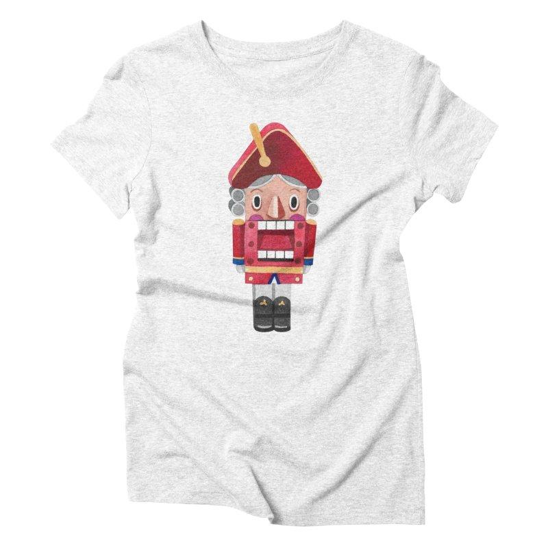 Nutcracker Women's Triblend T-shirt by Sashaunisex's Shop