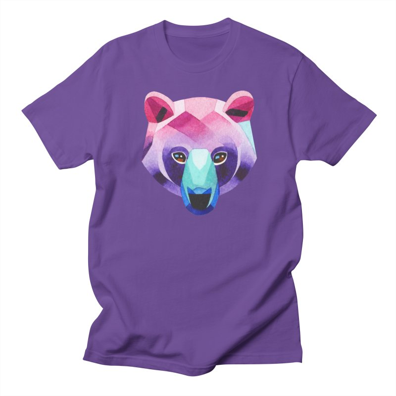 Bear Men's T-shirt by Sashaunisex's Shop