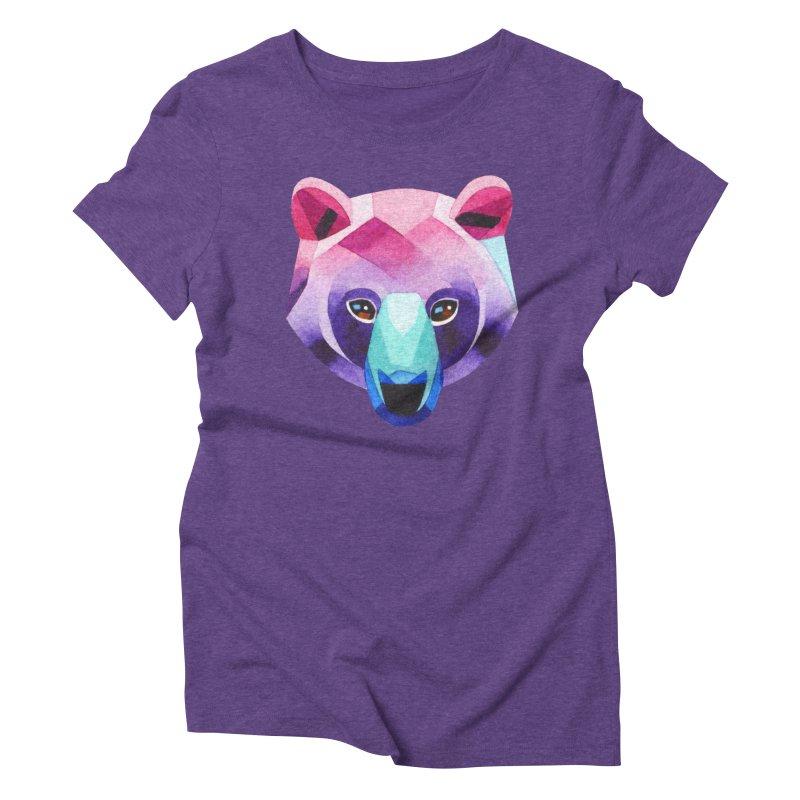 Bear Women's Triblend T-shirt by Sashaunisex's Shop