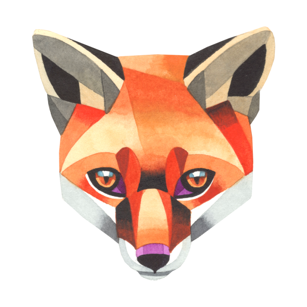 Design for Red fox