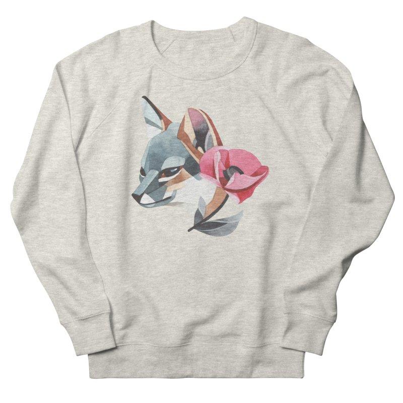 Grey fox Women's Sweatshirt by Sashaunisex's Shop